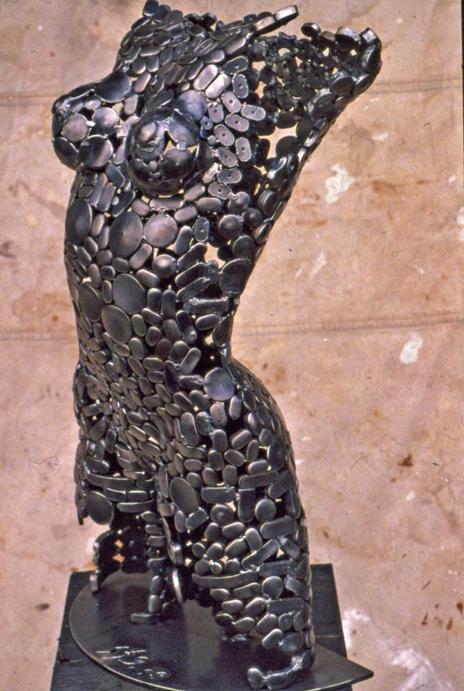 Stephen Fitz Gerald |Scrap Sculpture
