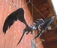 Welded Steel Dragon