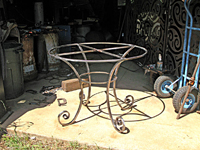 Forged Circular Table