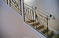 Free Form Art Nouveau Interior Railing 2